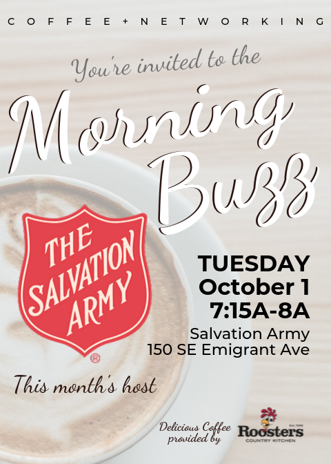 Morning Buzz hosted by Salvation Army
