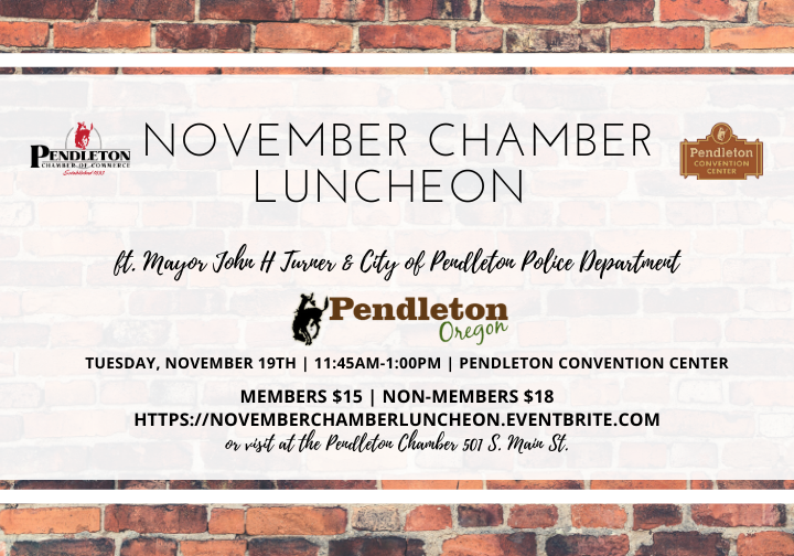 Monthly Chamber Luncheon