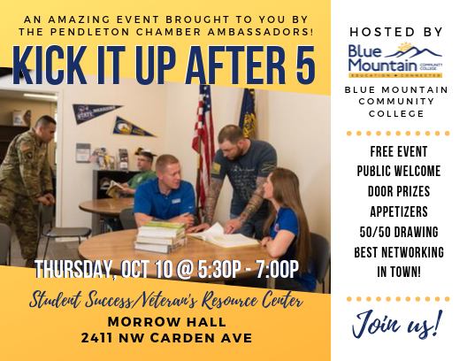 Kick it Up After 5 - Blue Mountain Community College